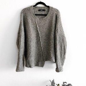 Zara asymmetric sweater